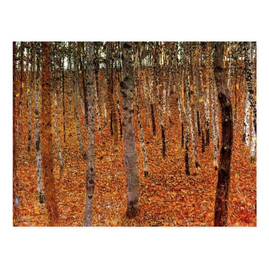 Gustav Klimt Forest of Beech Trees Fne Art