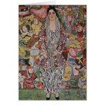 Gustav Klimt Fredericke Maria Beer Note Card