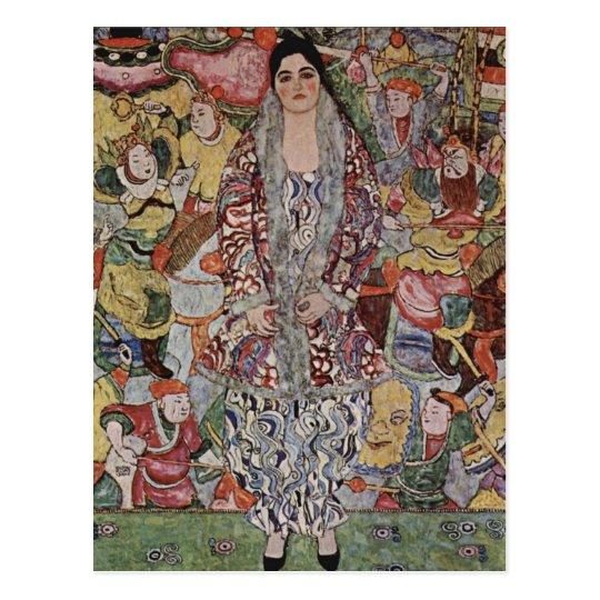 Gustav Klimt Fredericke Maria Beer Postcard