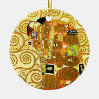 Gustav Klimt Fulfillment Ornament