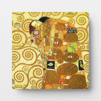 Gustav Klimt Fulfillment Plaque