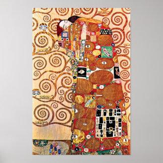 Gustav Klimt - Fulfillment Poster