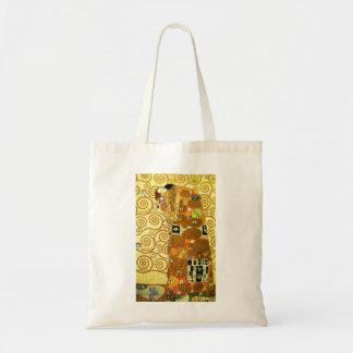 Gustav Klimt Fulfillment Tote Bag