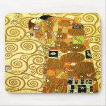 Gustav Klimt Fulfilment Mouse Pad