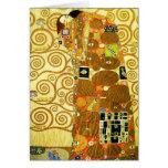 Gustav Klimt Fulfilment Note Card