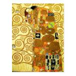 Gustav Klimt Fulfilment Postcard