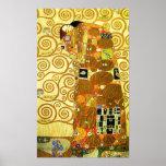 Gustav Klimt Fulfilment Poster
