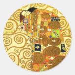 Gustav Klimt Fulfilment Stickers