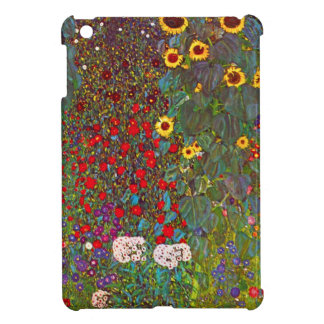 Gustav Klimt Garden with Sunflowers iPad Mini Case