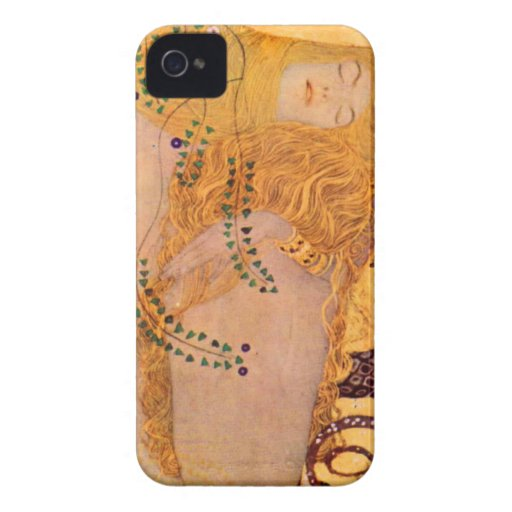 Gustav Klimt Hydra Mermaid Vintage BlackBerry Case