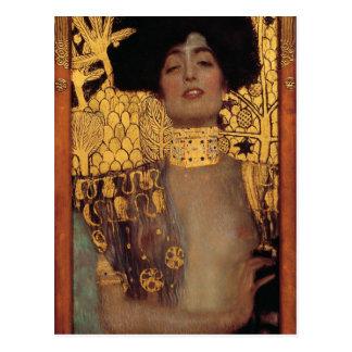 Gustav Klimt Judith Postcard