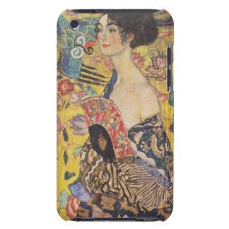 Gustav Klimt Lady With Fan iPod Case