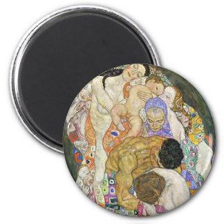 Gustav Klimt Life and Death Magnet