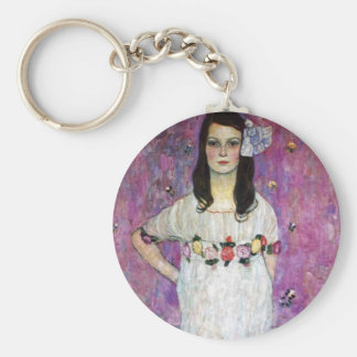 Gustav Klimt Mada Primavesi Key Chain