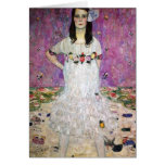 Gustav Klimt Mada Primavesi Note Card