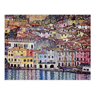Gustav Klimt - Malcesine at Lake Garda Post Cards