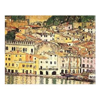 Gustav Klimt- Malcesine on Lake Garda Postcard