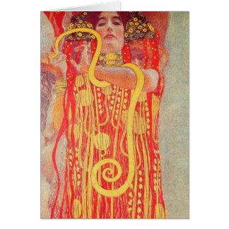 Gustav Klimt - Medizin Card
