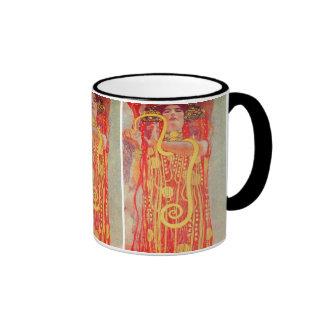Gustav Klimt - Medizin Ringer Mug