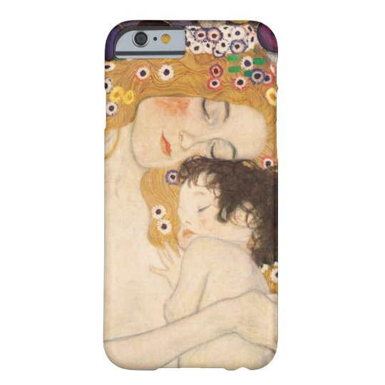 Gustav Klimt Mother And Child Barely There iPhone
