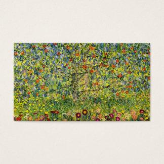 Gustav Klimt painting art nouveau The Apple Tree