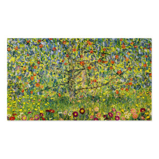 Gustav Klimt painting art nouveau The Apple Tree Pack Of Standard Business Cards