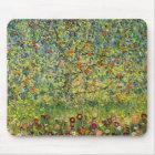 Gustav Klimt painting art nouveau The Apple Tree Mouse Mat