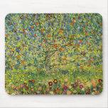 Gustav Klimt painting art nouveau The Apple Tree Mousepad