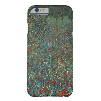 Gustav Klimt Poppy Field Barely There iPhone 6 Case