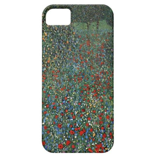 Gustav Klimt Poppy Field iPhone 5 Cases