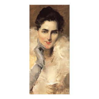 Gustav Klimt- Portrait of a Lady Rack Card Template