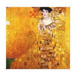 Gustav Klimt Portrait of Adele Bloch-Bauer Stretched Canvas Print