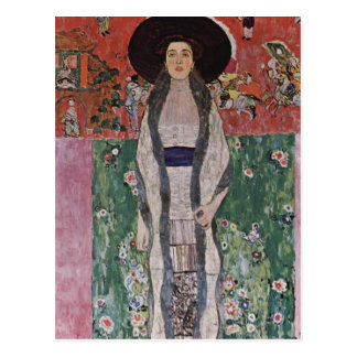 Gustav Klimt Portrait of Adele Bloch-Bauer II Postcard