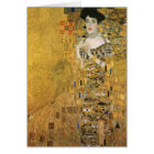 Gustav Klimt - Portrait of Adele Block Bauer Card