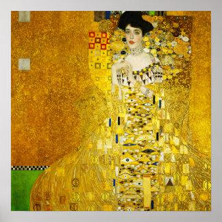 Gustav Klimt Portrait of Adele Poster