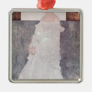 Gustav Klimt- Portrait of Margaret Wittgenstein Christmas Tree Ornament