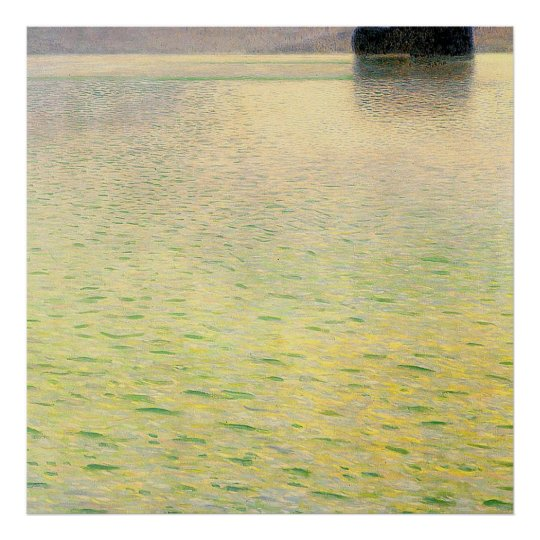 Gustav Klimt Poster ~ The Island