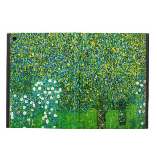 Gustav Klimt Roses Under The Pear Tree Cover For iPad Air