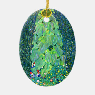 Gustav Klimt: Sunflower Christmas Ornament