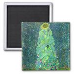 Gustav Klimt: Sunflower Magnets