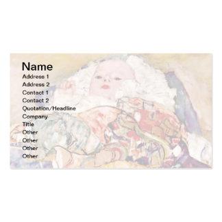 Gustav Klimt - The Baby Cradle - Newborn Pack Of Standard Business Cards