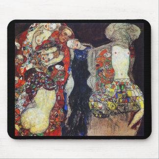 """Gustav Klimt, """"The Bride"""" (1917/18 unfinished) Mouse Mat"""