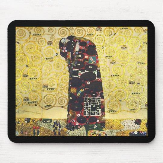"""Gustav Klimt , """" The Embrace """" Mouse Mat"""