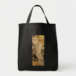 Gustav Klimt ~ The Hydra Grocery Tote Bag
