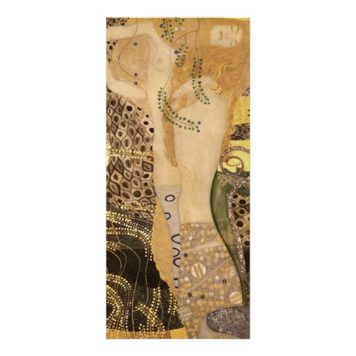 Gustav Klimt ~ The Hydra Rack Card