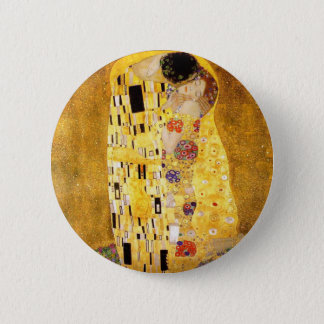 Gustav Klimt The Kiss Button
