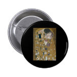 Gustav Klimt The Kiss Buttons