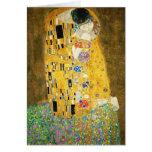 Gustav Klimt The Kiss Card
