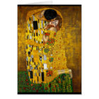 Gustav Klimt - The Kiss Card