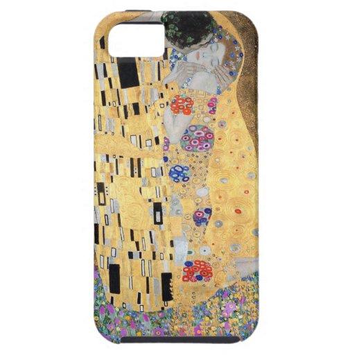 Gustav Klimt The Kiss iPhone 5 Covers